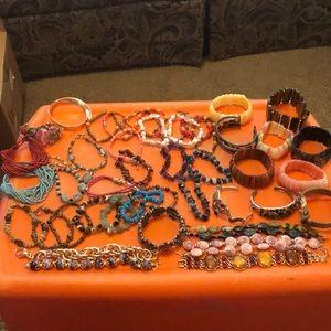 Huge lot of bracelets!